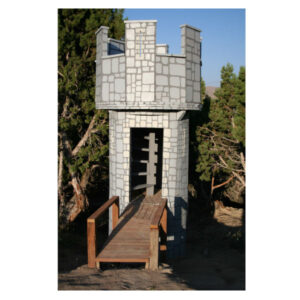 Outdoor Playset Castles
